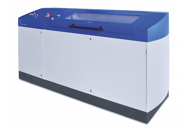 Burst pressure test bench with explosion proof test chamber