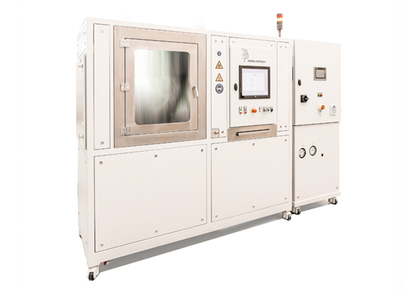 Pressure Cycle Test Bench and Function Test Bench with test chamber and battery simulation